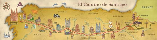 fresh-camino-frances-map-or-poster-34-pilgrimage-spain-camino-de-santiago-map